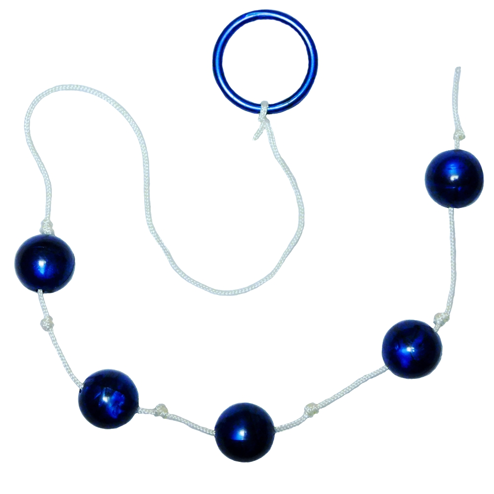 Blue Anal Love Beads