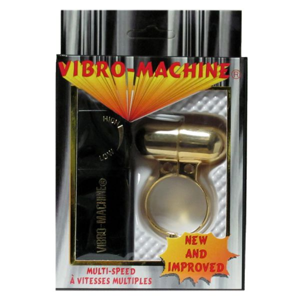 Gold Vibrating Cockring/Bullet